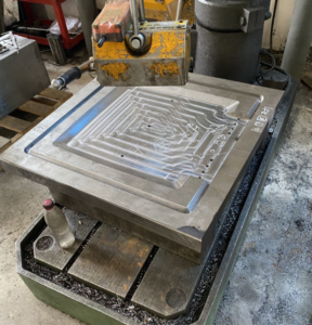 mold material processing